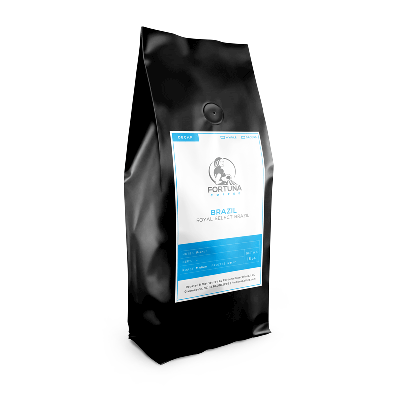 Decaf Royal Select Brazil - Fortuna Coffee
