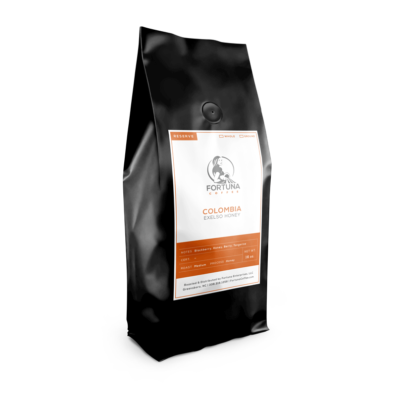 Colombia Exelso Honey - Fortuna Coffee