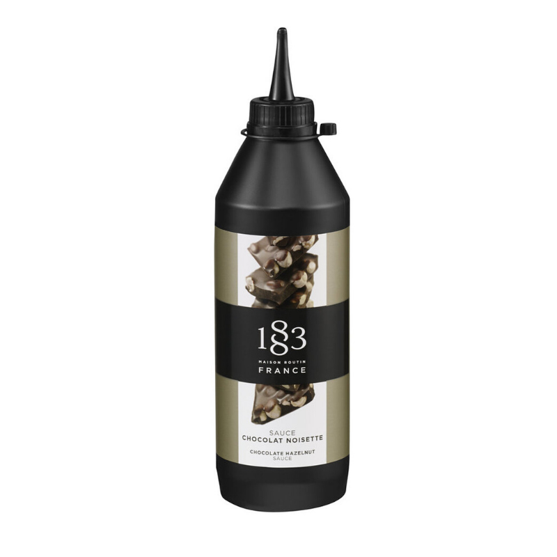 1883 Chocolate Hazelnut Sauce - 17oz - Fortuna Coffee