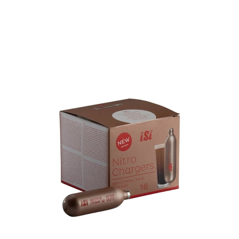 iSi Nitro Chargers - 16 ct. - Fortuna Coffee