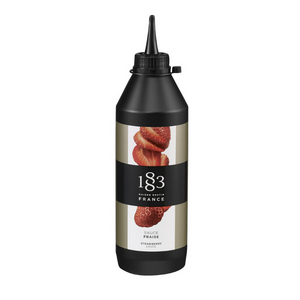 1883 Strawberry Sauce - 17oz - Fortuna Coffee
