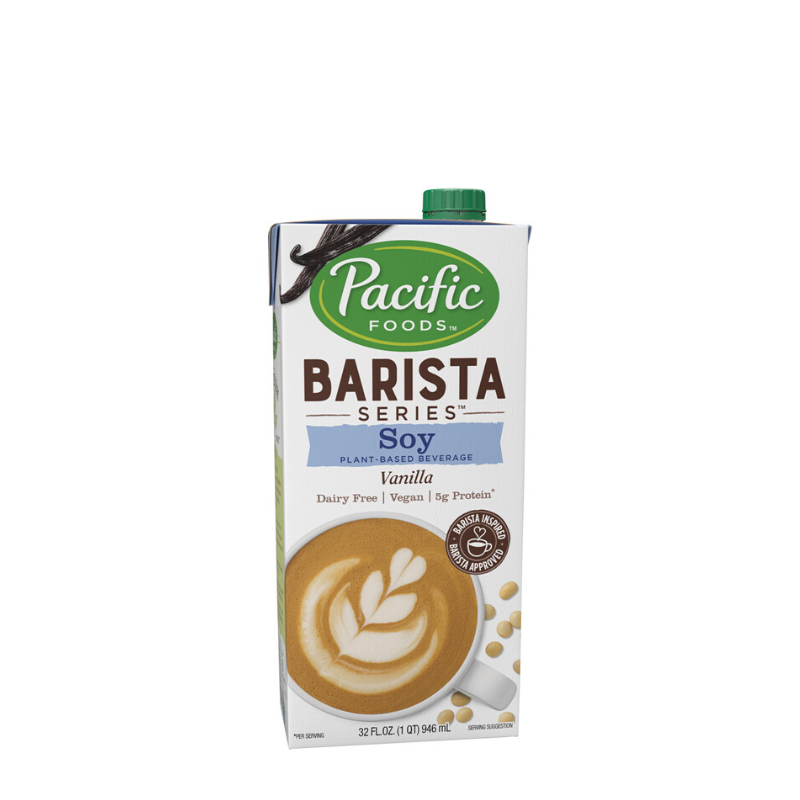 Pacific Barista Series Vanilla Soy Milk - Fortuna Coffee