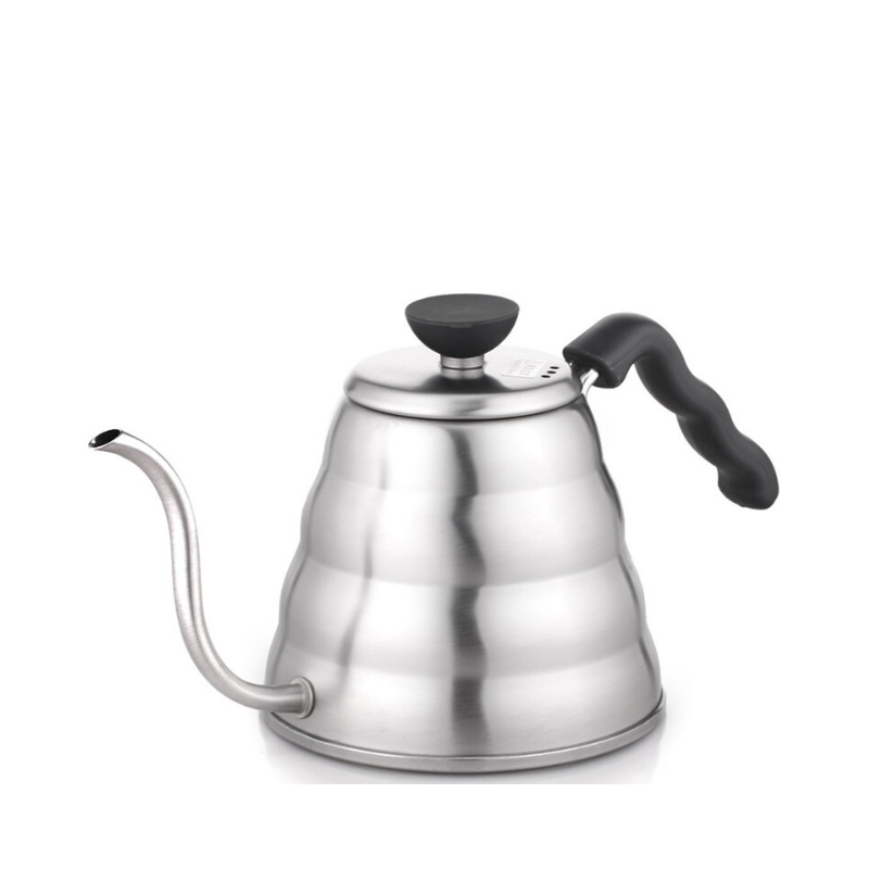 Hario Buono Kettle - Stainless Steel - Fortuna Coffee
