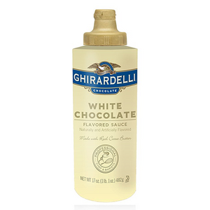 Ghirardelli White Chocolate Sauce - Fortuna Coffee