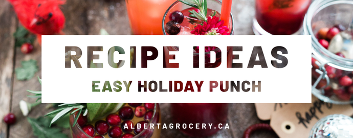 Recipe Ideas - Easy Holiday Punch