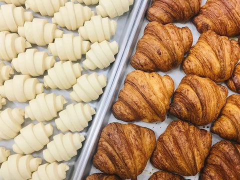 ButterBlock & Co.'s client-favourite butter croissant is made with 81 intricate layers of butter and dough.