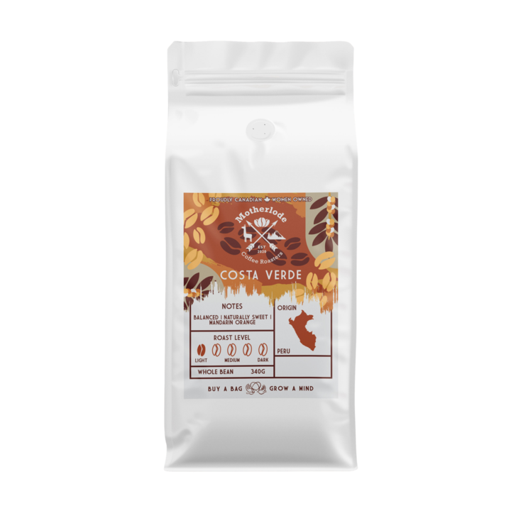 Motherlode Coffee - Costa Verde (340g)