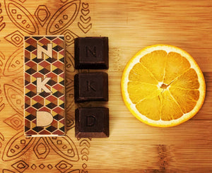 NKD Orange and Bergamot Chocolate Bar (50g)