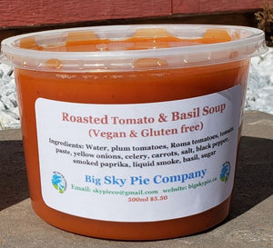 Big Sky Pie Roasted Tomato Soup - 500mL (Frozen)