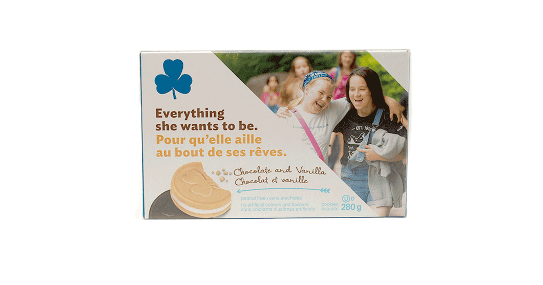 Girl Guide Cookies - Chocolate and Vanilla