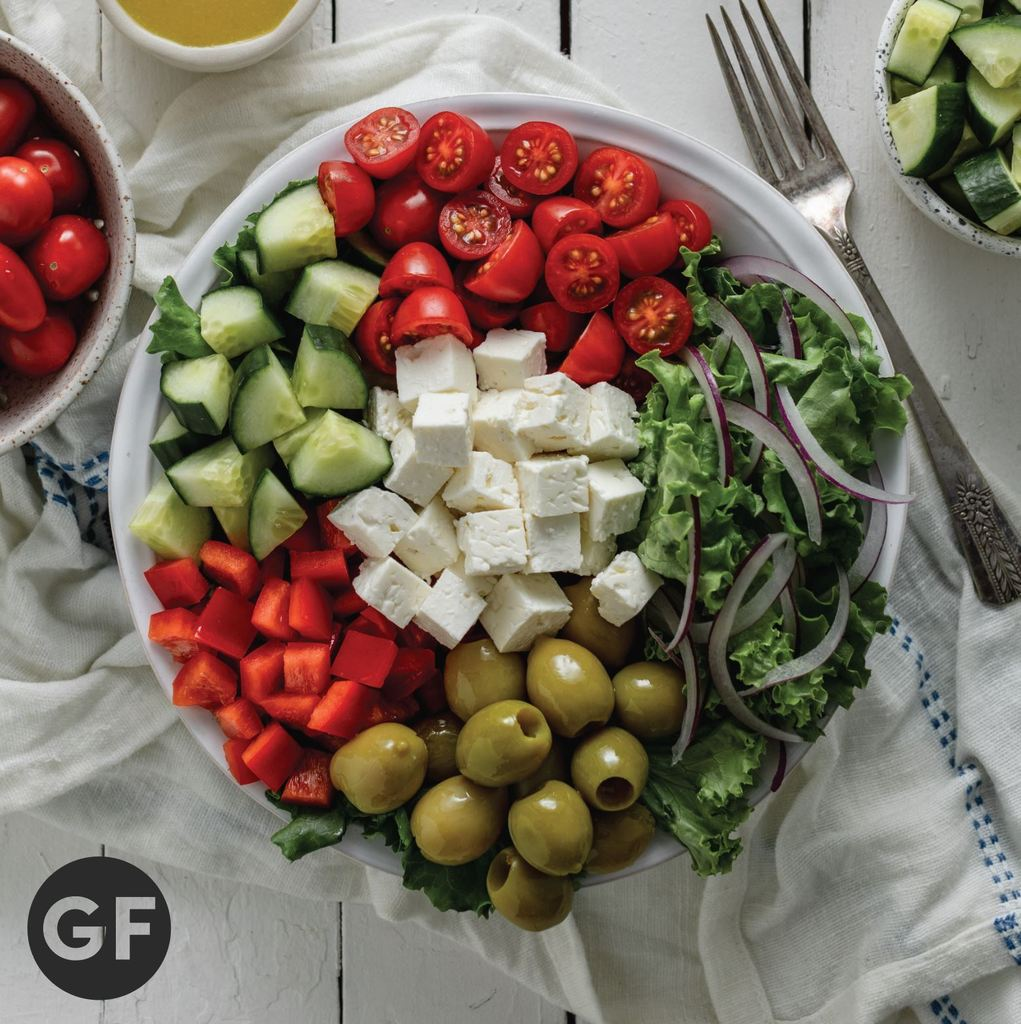 Inspired Go Greenhouse Greek Salad