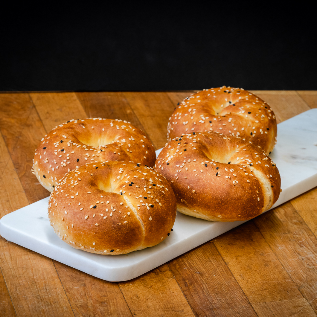 Sesame Bagels - 6 Pack