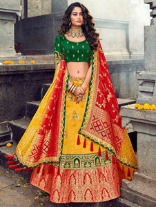 Traditional ethnic lehenga