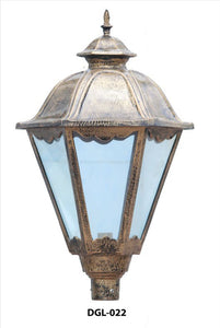 iron handicrafts gate lamps