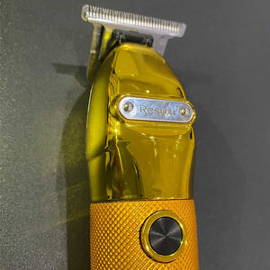 (HOT SALE!)Gold Skeleton Cordless Clipper with LCD Power Display