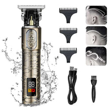Load image into Gallery viewer, New Style Washable Body Retro Copper Cordless Clipper