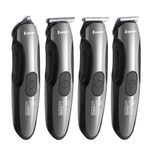 4 in 1 Men's Hair Clipper With LCD Display