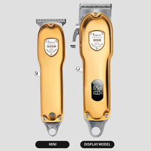 Load image into Gallery viewer, All Metal Body Professional Cordless Clipper With LCD Display