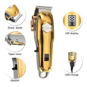 KEMEI 1984 Professional Hair Clipper With LCD Display