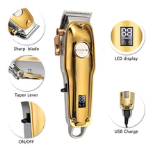 Load image into Gallery viewer, KEMEI 1986 Professional Hair Clipper With LCD Display