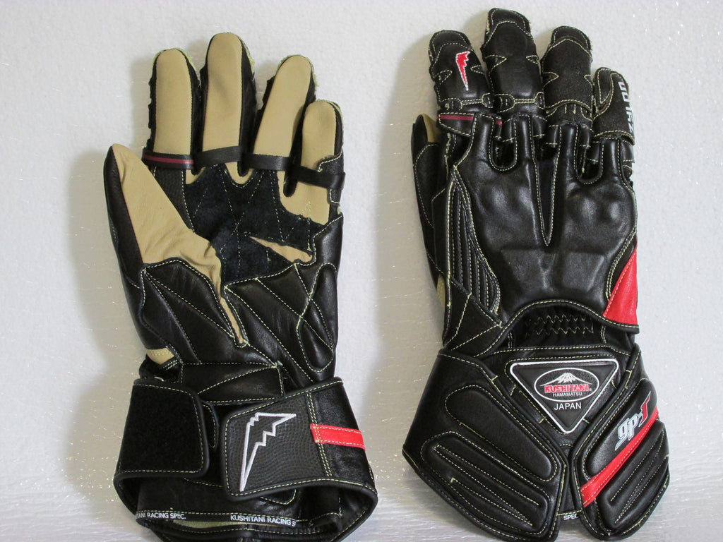 Kushitani Leather Race Gloves K-5147 Race GPR6