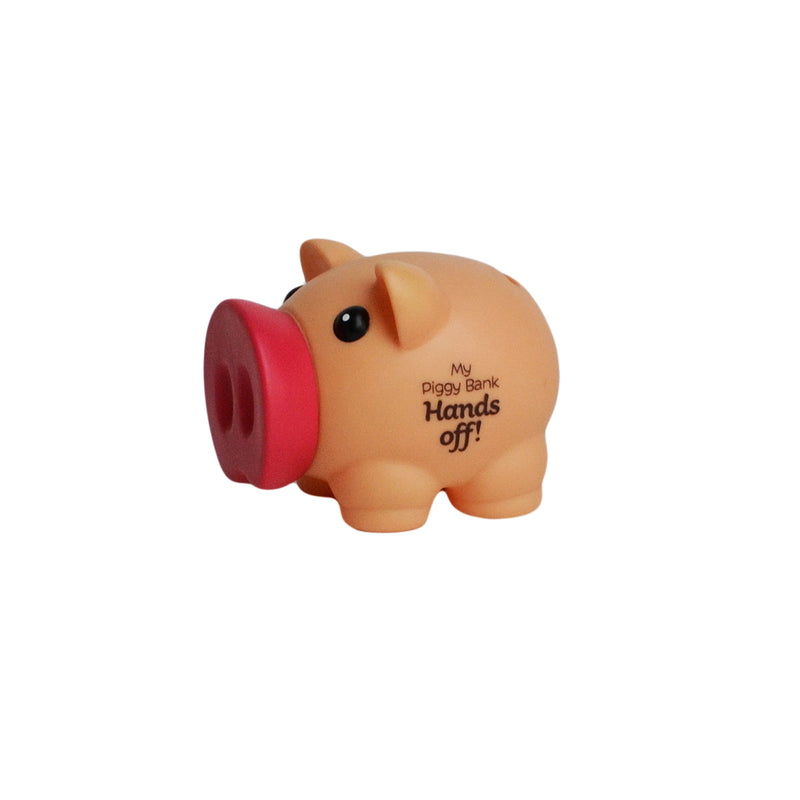 "Pusculita Plastic ""My Piggy Bank - Hands Off!"""