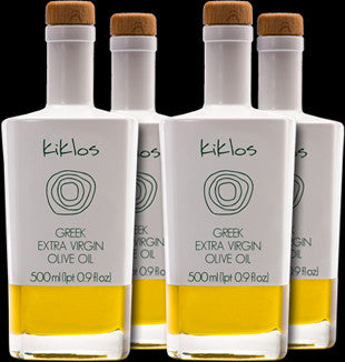 Four Bottles of Kiklos Olive Oil