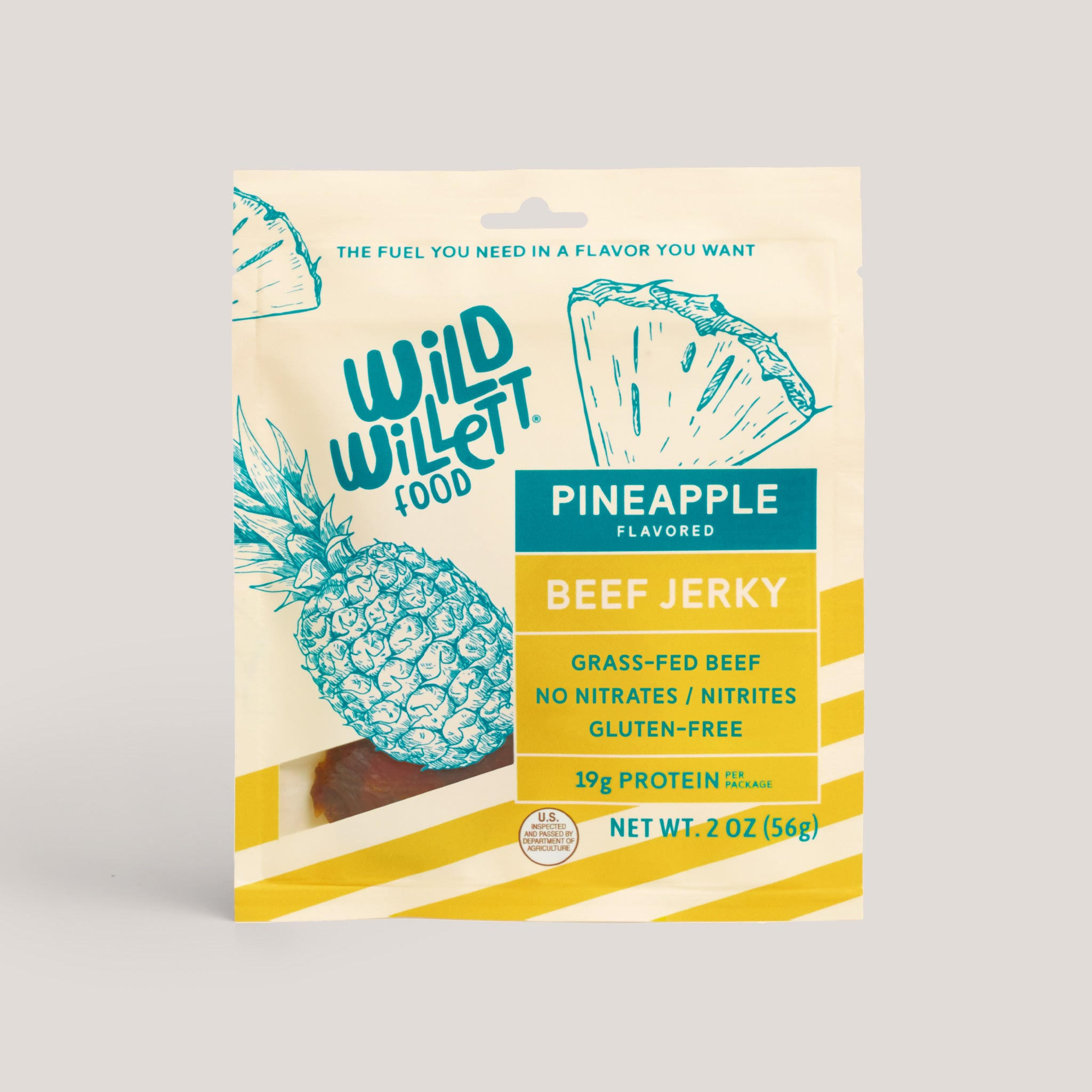 Pineapple Grass-Fed Beef Jerky