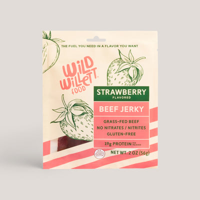 Strawberry Grass-Fed Beef Jerky