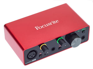 Focusrite Scarlett Solo 3rd Gen USB Audio Interface |Accessories|