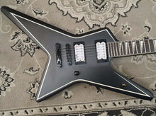 Load image into Gallery viewer, Jackson Gus G Star JS32 Satin Black with Amaranth Fingerboard | Electric Guitar | USED APPROVED