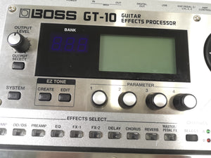 GT-10 Guitar Effects Processor and boss bag|USED APPROVED|Effects pedal