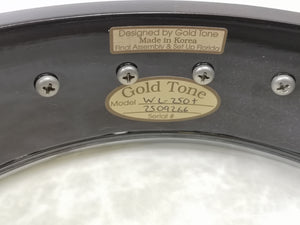 Gold Tone WL-250+ White Ladye Plus Deluxe Open Back Banjo |USED APPROVED|