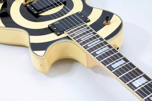 Epiphone Zakk Wylde Les Paul Custom Bulls Eye Electric guitar [USED APPROVED]