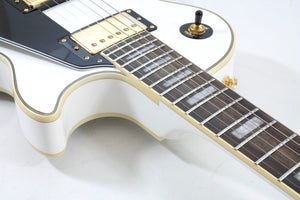 Epiphone Les Paul Custom, Alpine White Electric Guitar [USED APPROVED]