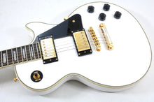Load image into Gallery viewer, Epiphone Les Paul Custom, Alpine White Electric Guitar [USED APPROVED]