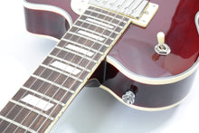 Load image into Gallery viewer, Johnson Jh-100 Delta Rose Hollow Body LP Electric Guitar [USED APPROVED]