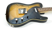 Load image into Gallery viewer, Jay Turser JT-LT Crus Deluxe Electric Guitar, Antique Natural Sunburst Electric Guitar [USED APPROVED]