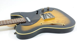 Jay Turser JT-LT Crus Deluxe Electric Guitar, Antique Natural Sunburst Electric Guitar [USED APPROVED]