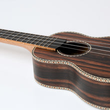 Load image into Gallery viewer, Snail UKS-E220 Ebony Soprano Ukulele
