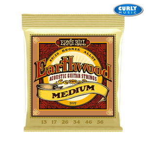 Earthwood Medium 80/20 Bronze Acoustic Guitar Strings - 13-56 | Accessories
