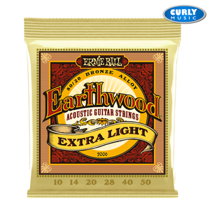 Ernie Ball - Earthwood Extra Light 80/20 Bronze Acoustic Guitar Strings - 10-50 | Accessories