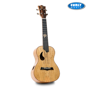 SNAIL BH-1C SPALTED MAPLE CONCERT UKULELE GLOSS FINISH