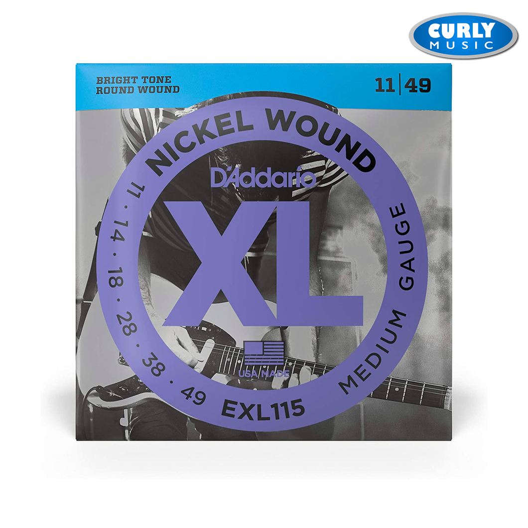 EXL115  Regular Light Gauge set 11-49 Electric Guitar Strings | Accessories