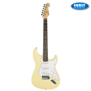 Chord Stratocaster Style Electric Guitar Cream | Electric Guitar