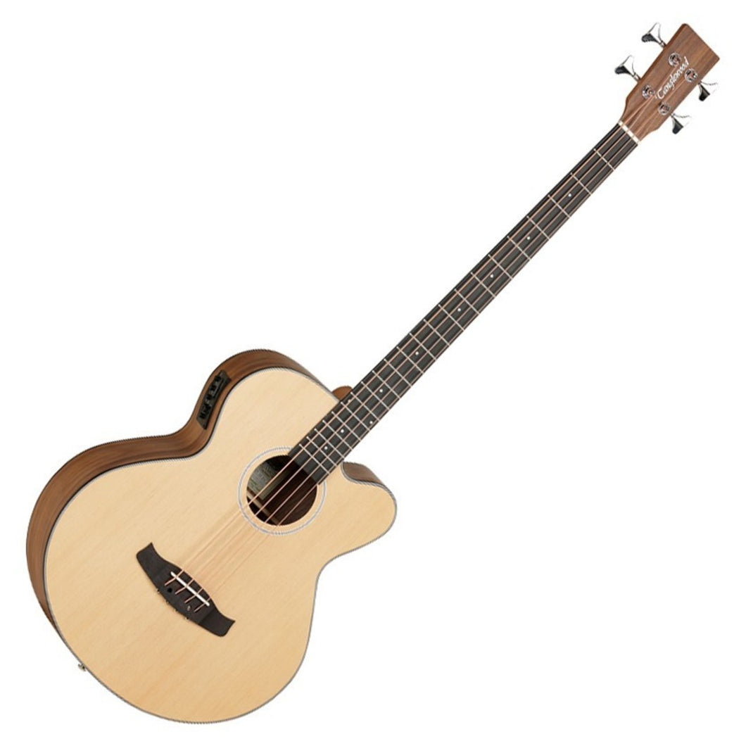 anglewood DBT-AB-BW Discovery Electro Acoustic Bass, Natural