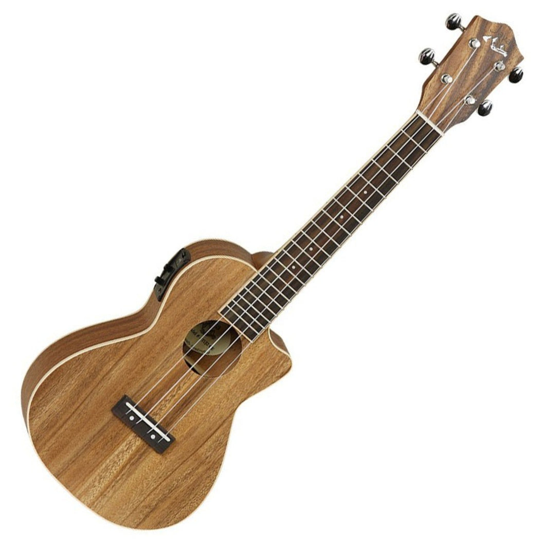 Tanglewood Exotic Java Tenor Ukulele Electro Acoustic, Koa |USED APPROVED| Ukulele