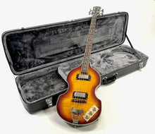 Load image into Gallery viewer, Epiphone Viola Bass, Vintage Sunburst with Epiphone case, unmarked