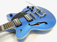 Load image into Gallery viewer, Gretsch G2655t Streamliner Centerblock Junior, Fairlane Blue including case.