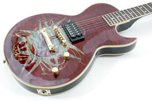 Load image into Gallery viewer, Spear LP Monkey Signature SHL 1Q Dark Red Electric Guitar [USED APPROVED]